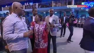 Shocking! 2 years Pregnant Woman Receives her Deliverance   Prophet Shepherd Bushiri
