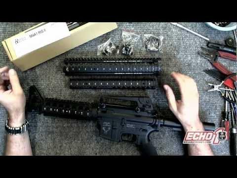 Xxx Mp4 How To Install A MadBull Daniel Defense M4 RIS II On My Echo1 3gp Sex