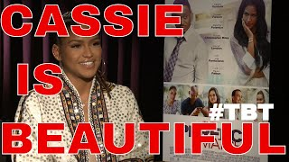 THROWBACK INTERVIEW with CASSIE for her ACTING DEBUT