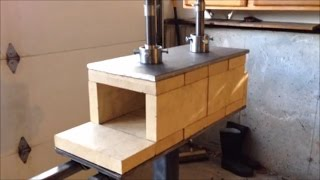 Homemade Propane Gas Forge for Blacksmithing