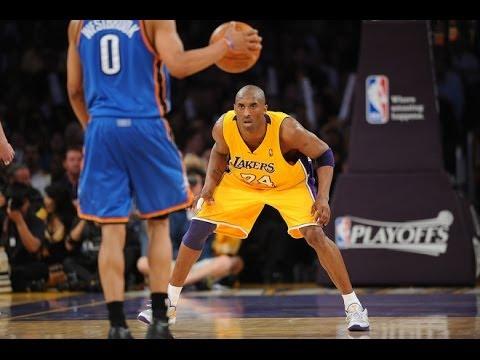 Kobe Bryant Lockdown Defense vs. Russell