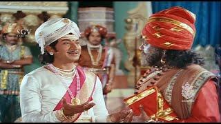Kavirathna Kalidaasa Kannada Movie | Super Scenes | Rajkumar, Srinivashmurthy, Musuri Krishna