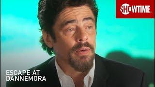 BTS w/ Benicio Del Toro on Richard Matt | Escape At Dannemora | SHOWTIME