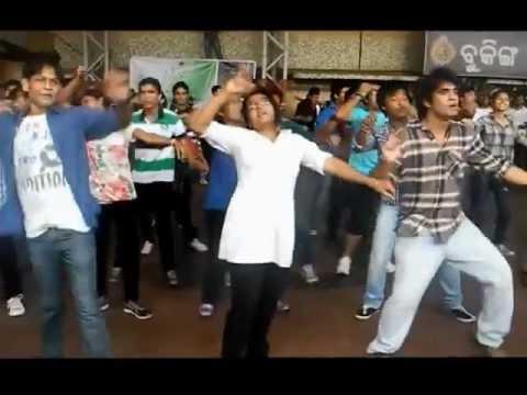 Flashmob at Bhubaneswar Railway station