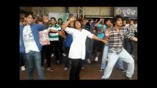 Flashmob at Bhubaneswar Railway station