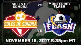 Soles de Sonora vs Monterrey Flash