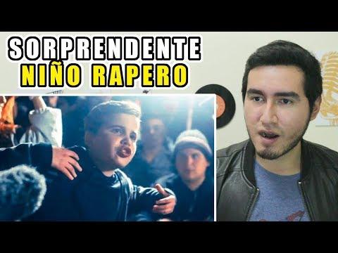 SORPRENDENTE NIÑO RAPERO HUMILLA A LOS GRANDES ZAINA