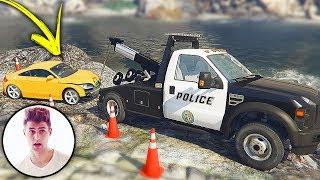 GTA V Policia - Rezende Evil se Envolve em ACIDENTE