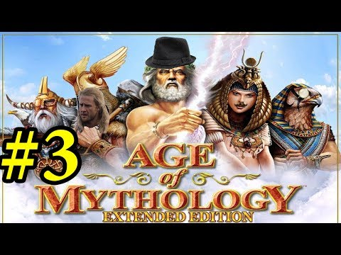 Let` s Play Age of Mythology Extended Edition Campaign Mission/Part 3 - Scratching the surface