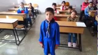 عبد الرحيم الحلبي نجم ذا فويس في المدرسة