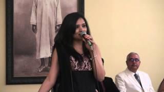Pankti Shukla sings