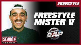 Mister V en freestyle #PlanèteRap