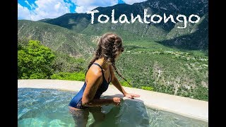 MEXICAN HOT SPRINGS IN MOUNTAINS!! Tolantongo!