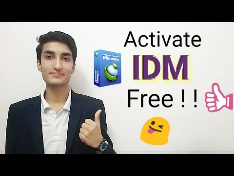 [Hindi] How to activate IDM free for lifetime !! Latest 2017 Trick !