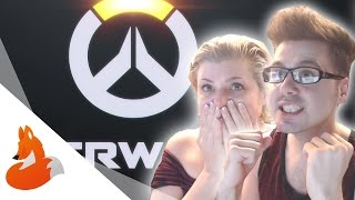 MOM REACTS TO OVERWATCH CINEMATIC TRAILER!
