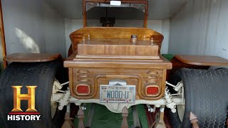 American Pickers: This Wooden Model T Belongs in a Museum! | History