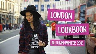 London Sights Lookbook - Autumn/Winter 2015 | CharliMarieTV
