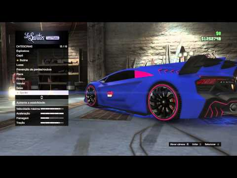 GTA V como fazer o carro do mc brinquedo