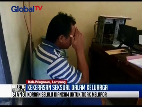 Remaja putri 13 tahun jadi sasaran nafsu asusila ayah tiri dan kakak kandung - BIS 14/04