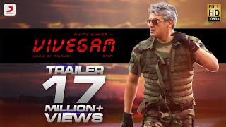 Vivegam Official Tamil Trailer | Ajith Kumar | Siva | Anirudh Ravichander