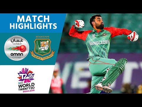 Xxx Mp4 ICC WT20 Bangladesh Vs Oman – Match Highlights 3gp Sex