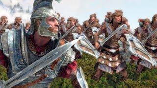 Forsworn Army VS Imperial Army! - Skyrim Remastered NPC Battle