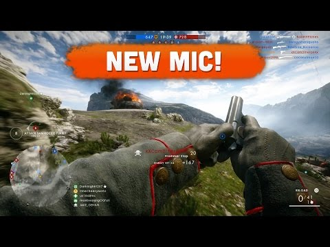 NEW MIC Battlefield 1 Road to Max Rank 46 Multiplayer Gameplay