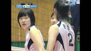 Park Jeong-Ah in Korean High School Volleyball Championship 1/2