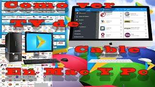 como ver tv cable con You Tv Player en tu mac y pc con Bluestacks |