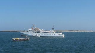 Bremerhaven - Helgoland mit MS FAIR LADY: Schiffe, Leuchttürme, Meer / Helgoland-Fahrt 13.09.2014