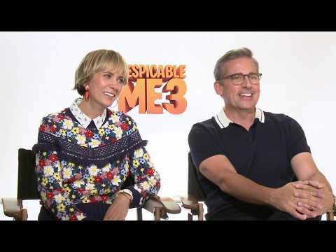 Despicable Me 3 Interview Steve Carell & Kristen Wiig