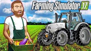 FARMER HIKE: Buying a Lamborghini Tractor $$$ | Farming Simulator 2017 Gameplay