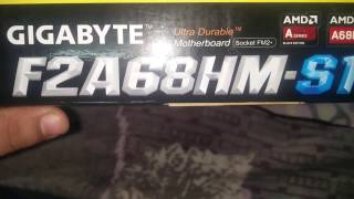 About Gigabyte GA-F2A68HM-S1 USB 3.0 AMD A68H Micro ATX AMD Motherboard -- HINDI