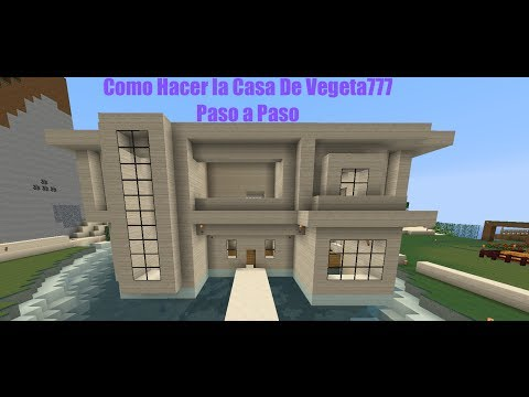 Como Hacer la Casa De PLANETA VEGETTA777 Paso a Paso PT1