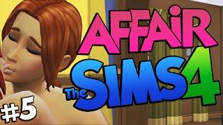 Sims 4 - SLUT CHEATS! Having an Affair on The Sims 4 (Sims 4 Funny Moments) #5
