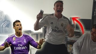 REAGINDO A FINAL DA CHAMPIONS LEAGUE!! (quebrei tudo!!)