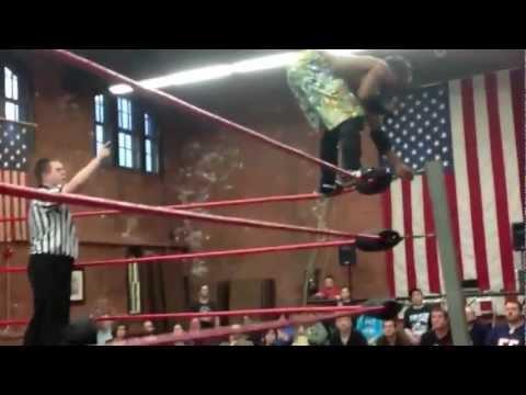 Pro Wrestler (Charade) Breaks Skull and Kicks Out!