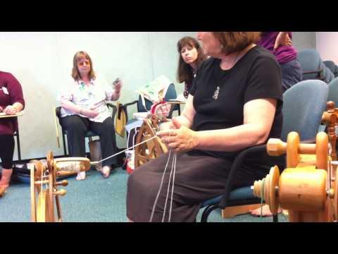 Xxx Mp4 Judith Mackenzie Demonstrating How To Ply Three Ply Yarn 3gp Sex