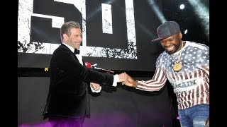 50 Cent & John Travolta Take Over Cannes Film Festival (Full Video)