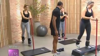 Aula de sculpt: Exercícios físicos para aumentar o bumbum