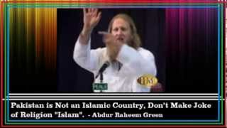 Pakistan is Not an Islamic Country [proof] - Abdur Raheem Green