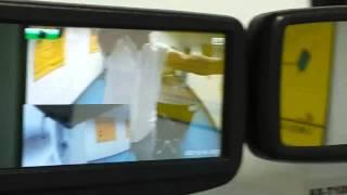 Car Mirror H.264 HD DVR Black Box Digital Video Recorder+Parking sensor+camera