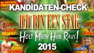 Dschungelcamp 2015: Alle Kandidaten von Ich bin ein Star - Holt mich hier raus (RTL)