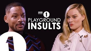 Will Smith & Margot Robbie Insult Each Other | CONTAINS STRONG LANGUAGE!