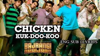 Chicken KUK-DOO-KOO   Eng Sub   Bajrangi Bhaijaan   Salman Khan   Kareena Kapoor