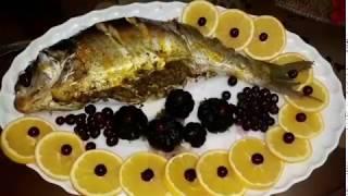 آموزش ماهي شكم پر در قابلمه (ماهي لونگي )پروانه جوادي خواهر جوادجوادي