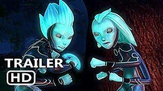 3BELOW TALES OF ARCADIA Official Trailer (2018) Guillermo Del Toro, Netflix Animated Series HD