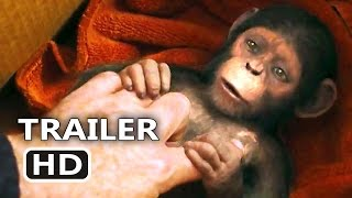 WАR FOR THE PLАNET OF THE АPES Baby Caesar Trailer (2017) Action Blockbuster Movie HD