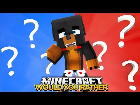 WOULD YOU RATHER FACECAM Minecraft Little Baby Max Games and Gaming