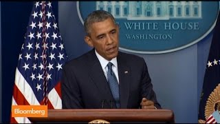 Obama: Gaza Cease-Fire Is the Way to Stop Killings